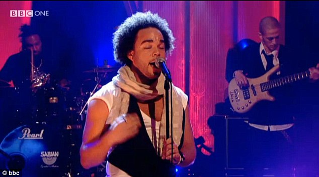 Another life: Nate James has previously performed on Jools Holland and was nominated for two MOBO awards in 2005