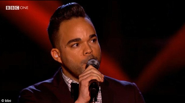 We're never gonna survive: Nate James sang Seal's hit, Crazy and joined Jessie J's team