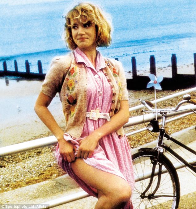 Pivotal role: Emily as a sexually precocious teenager in Wish You Were Here, the part that set her up for stardom