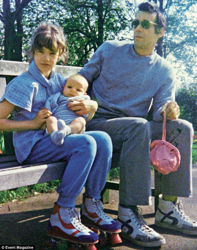 Emily, left, is the daughter of Only Fools and Horses star Roger Lloyd-Pack