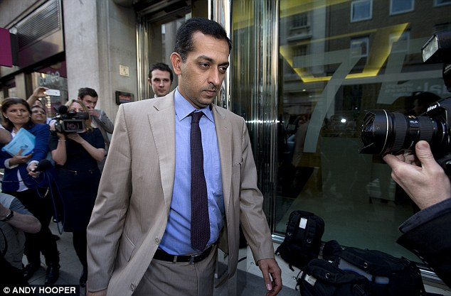 Banned: Mahmood Al Zarooni admitted to his part in the largest doping scandal in racing
