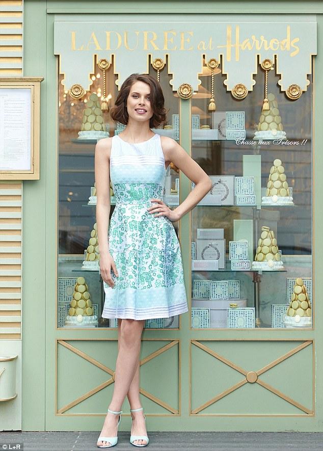 Jacquard dress, £870, Antonio Marras at avenue32.com; Patent shoes, £35, callitspring.co.uk