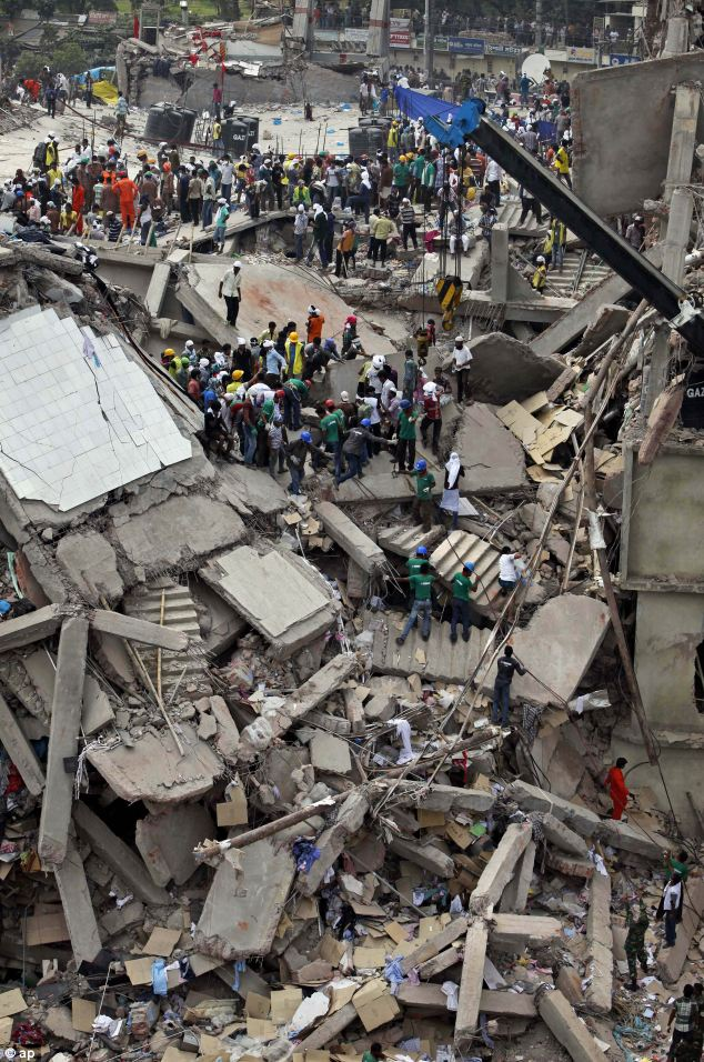 40 survivors were yesterday found trapped in a room that had only partly-collapsed under the weight of crumbled concrete