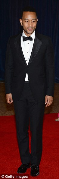 Stud lineup: John Legend, Darren Criss and Ryan Kwanten brought the handsome to the proceedings