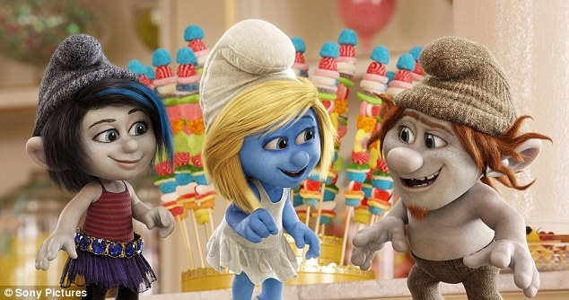 Smurfette's big night? Katy Perry scored three individual nods, including favorite voice in The Smurfs 2
