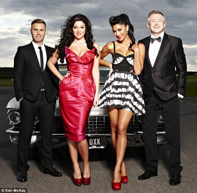 Back for good? Nicole is undecided whether to join Gary Barlow, Tulisa and Louis Walsh on the next series