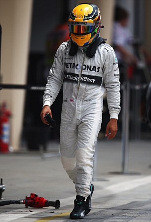 On tour: Most of Lewis' races during the autumn are outside of Europe