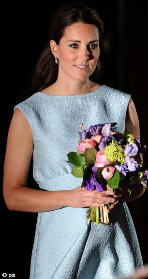 The Duchess also attended a charity function at the National Portrait Gallery in support of The Art Room