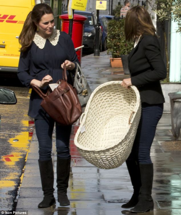 Kate is to move in with her mother at the Middleton family home in Bucklebury, Berkshire, after the birth and preparations for the royal arrival look to be well underway