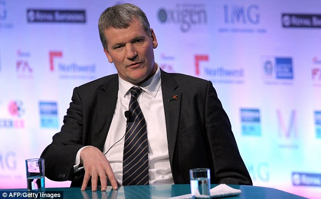 Man with the right plan: David Gill helped push through rules to ensure clubs have limits on their spending