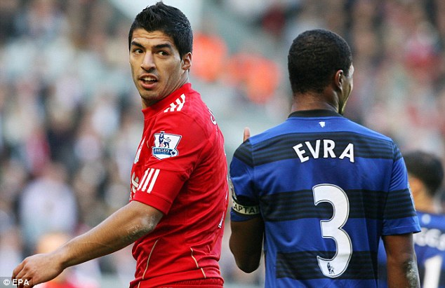 Guilty: Luis Suarez and John Terry were both hit with bans for using racially abusive language