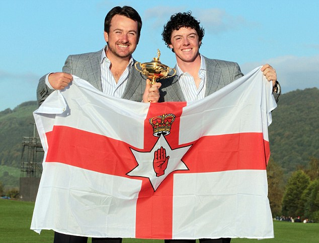 Representing: Rory McIlroy now looks likely to represent Ireland at the 2016 Olympic Games
