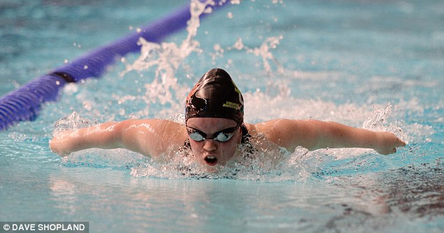 Maintaining interest: The British International Disability Swimming Championships in Sheffield were poorly attended