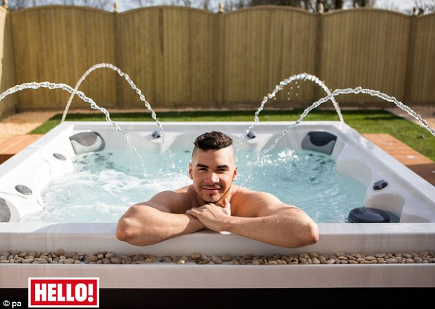 Come over to my house: Louis Smith has opened up his new home and revealed that he is looking for love