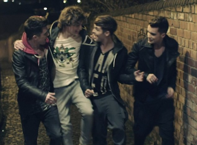 Debut: Union J released their first music video via Vevo, on Monday
