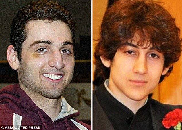 Leader: Tamerlan Tsarnaev, 26, (left) was the mastermind behind the April 15 Boston Marathon bomb attacks. Dzhokhar Tsarnaev, 19, (right) told police he was following his brother's orders