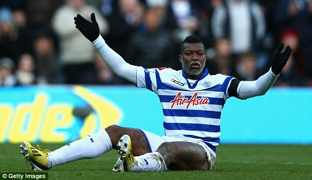 Already gone: Djibril Cisse had a whirlwind time at QPR, but has moved on to pastures new