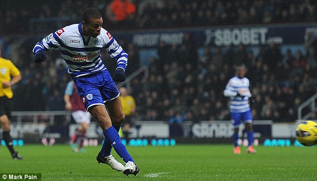 Try as he might: Loic Remy is one of very few who could be considered a success at Loftus Road