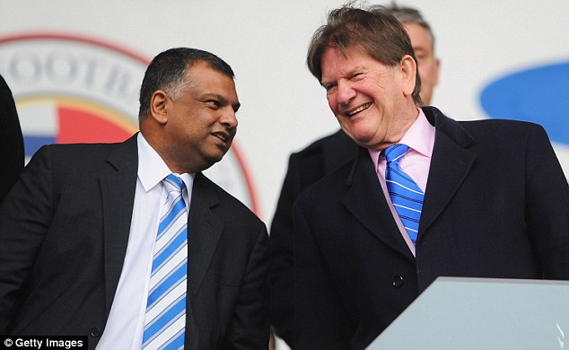 Money man: Tony Fernandes has splurged millions on more than 20 players since taking over the club