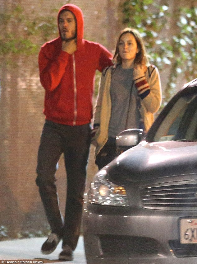 Early days: The couple were first spotted together back in March, sparking speculation that they were more than just friends