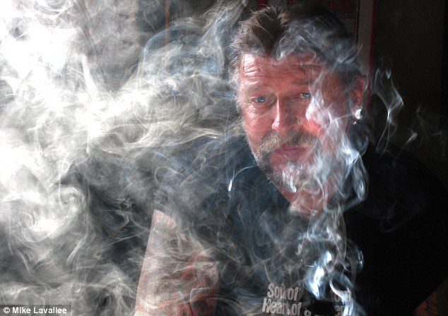 One of the last images taken of Phil: a man who lived high on borrowed time