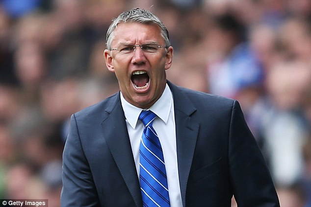 Tough start: Adkins has picked up just two points from his five games in charge at Reading