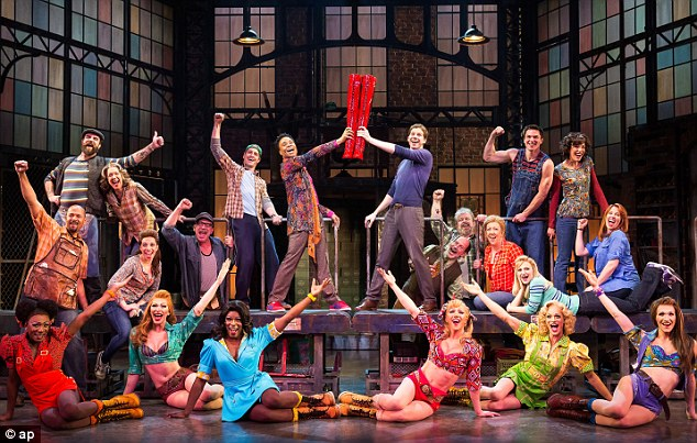 High note: Kinky Boots has scored 13 Tony Award nominations