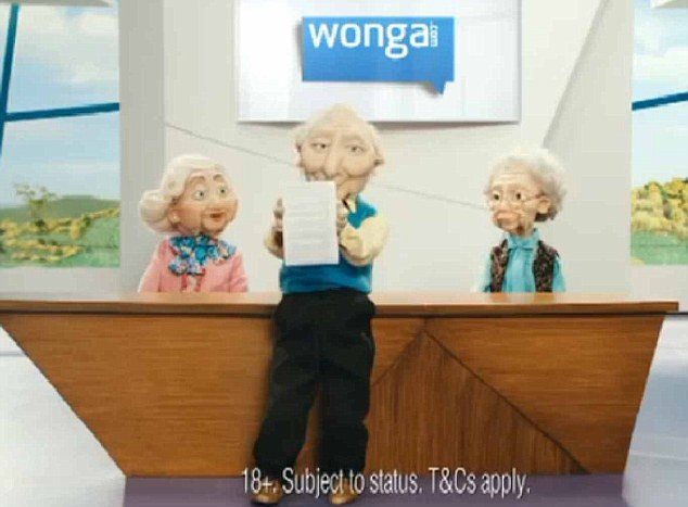 Need for speed: Wonga's website states that potential customers are 'six minutes away from a decision' on a loan- the BBC Watchdog programme will question if this is enough time to carry out relevant security and identity checks.