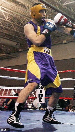 Tamerlan boxing