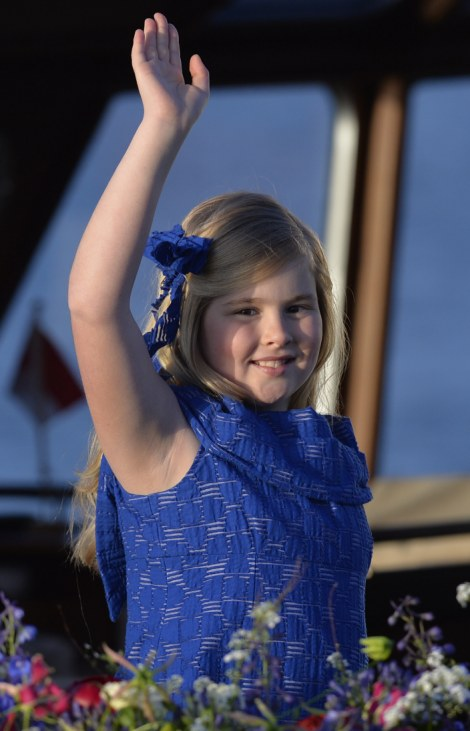 Catharina-Amalia, Netherlands' Princess of Orange