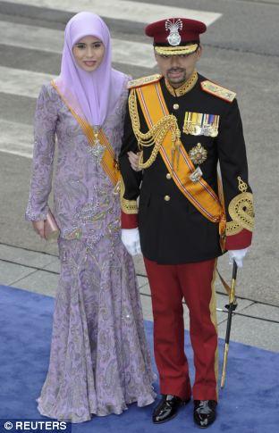 Crown Prince Billah and Crown Princess Sarah of Brunei