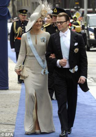 Sweden's Crown Princess Victoria and Prince Daniel