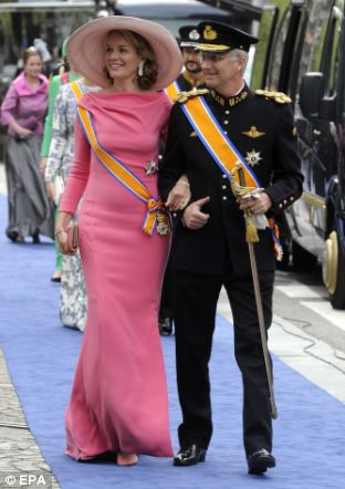 Prince Philippe and Princess Mathilde of Belgium