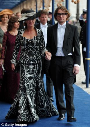 Prince Bernhard of Orange-Nassau, and Princess Annette