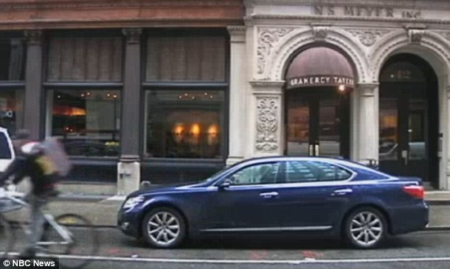 On the menu: The ugly fish even graced the menu of the Gramercy Tavern in Manhattan, pictured, according to NBC