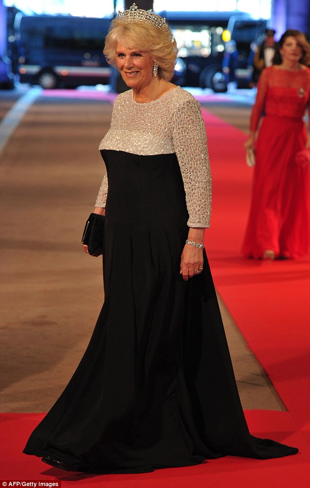 Camilla was also looking fabulous at the dinner  at the National Museum (Rijksmuseum) in Amsterdam hosted by Queen Beatrix of the Netherlands on the eve of her abdication