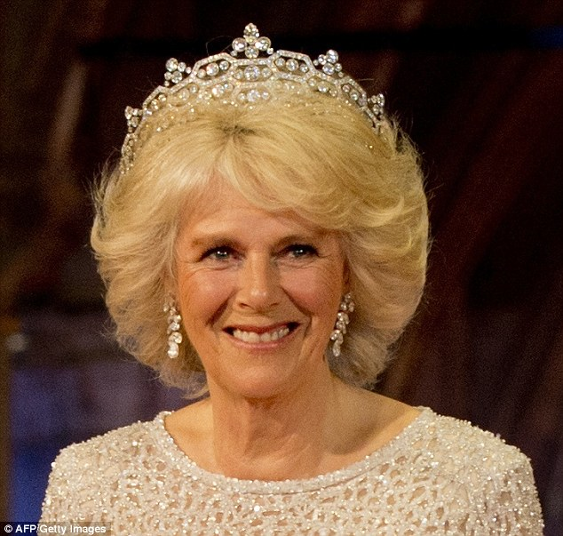 Camilla was amongst a host of foreign royalty at the gala dinner