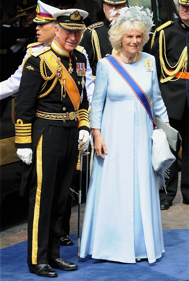 The Prince of Wales, Camilla, The Duchess of Cornwall were attending the inauguration ceremony of King Willem Alexander of the Netherlands