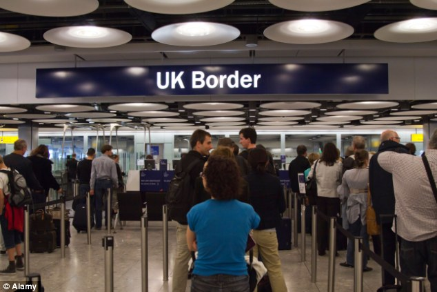 Crossing borders: The lack of restrictions on new EU member states under the last government has resulted in 1.1million Polish coming in to the UK since it joined the EU in 2004