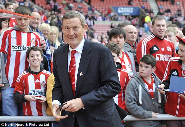 Ruthless: Short has axed the entire scouting network at Sunderland following the club's 6-1 defeat to Villa