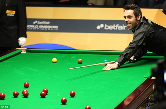 Rueful glance: O'Sullivan reflects on a missed opportunity