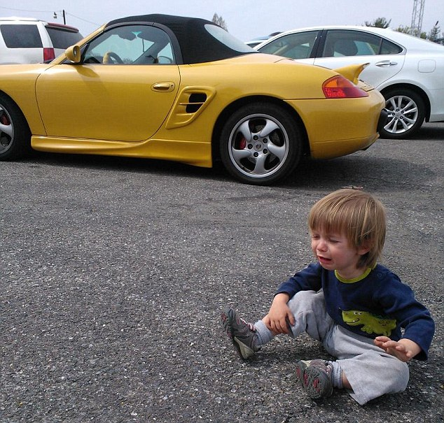 We would not let him drive this Porsche - submitted by Chris