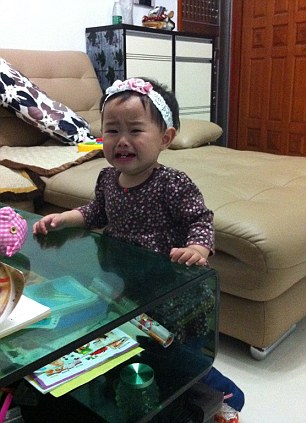Her mother didn't pick her up quickly enough - submitted by Cherry, Shunde, China
