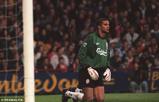 Safe pair of hands: David James is intrigued about becoming a pundit