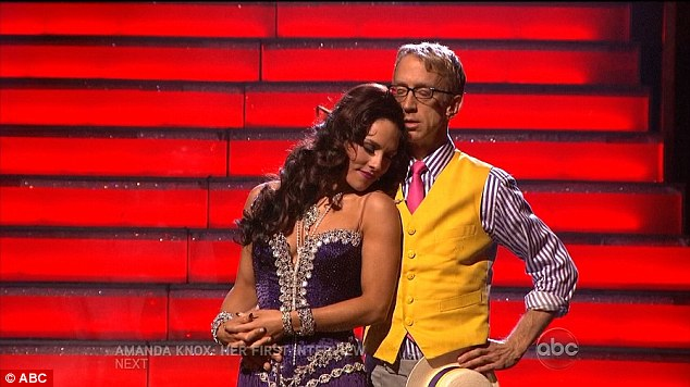 Fan favourite: Andy previously had skated through the competition on his charm and quirky humour