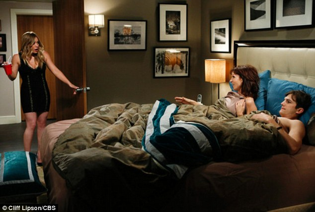 What is going on? Stacey isn't impressed to find Walden in bed with her grandmother