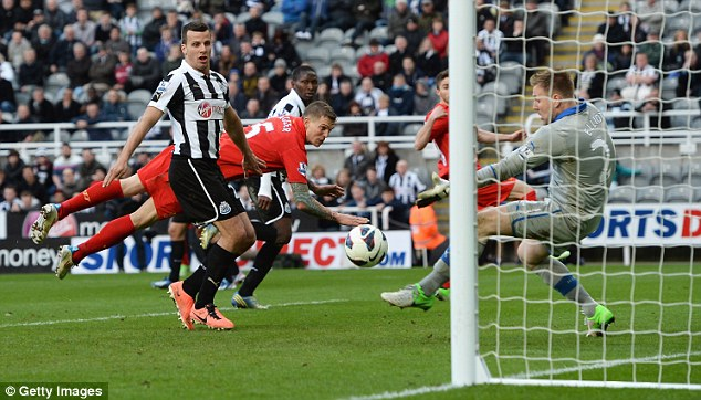 Chance: Rob Elliot has been watched by Ireland's scouts after replacing the injured Tim Krul for Newcastle