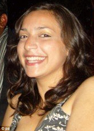 Victim: The body of Meredith Kercher was found in the girls' shared apartment in November 2007