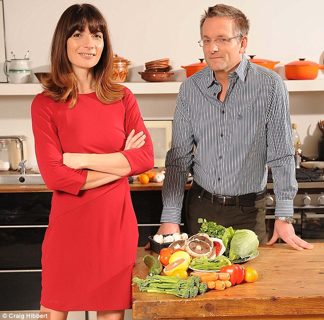 Advocates: Mimi Spencer and Dr Michael Mosley's Fast Diet has taken the country by storm - but experts say the long-term benefits need to be ascertained