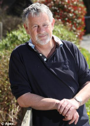 The photos are the subject of a new book by historian and author Nigel Clarke (pictured) from Lyme Regis, Dorset